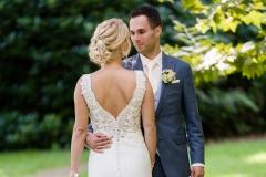 Bruidsmakeup en bruidskapsel