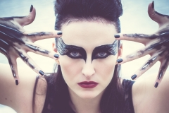 Black Swan make-up