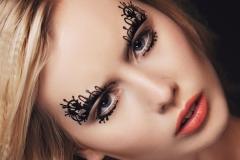 Make-up met accessoires
