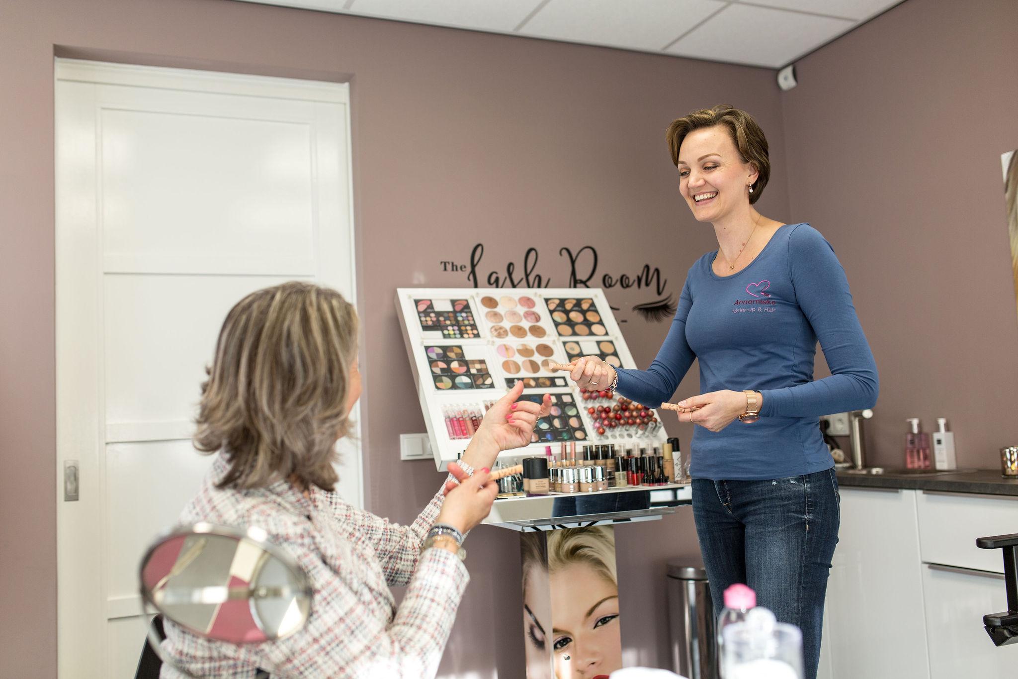 Make-up workshop in Eindhoven